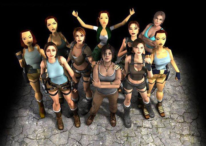 Many_Faces_of_Lara