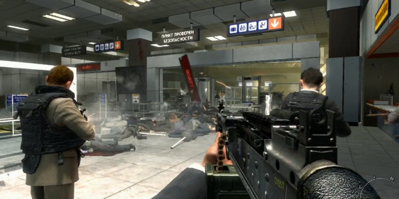 Modern Warfare 2 No Russian