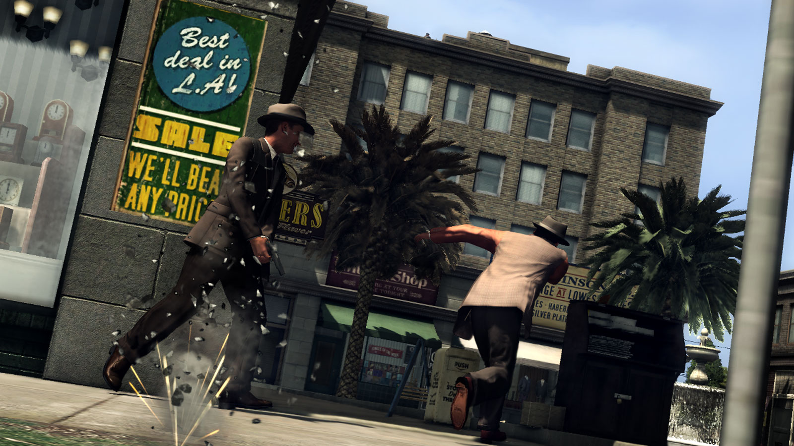 LA Noire Gunfight